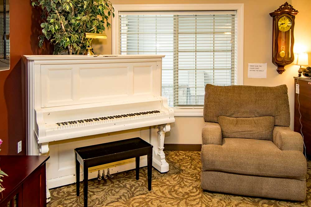 Boise Memory Care- Piano