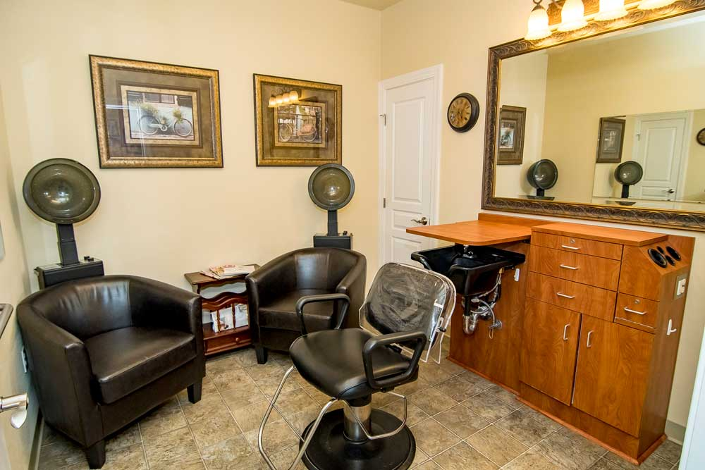 Boise Memory Care- hair salon