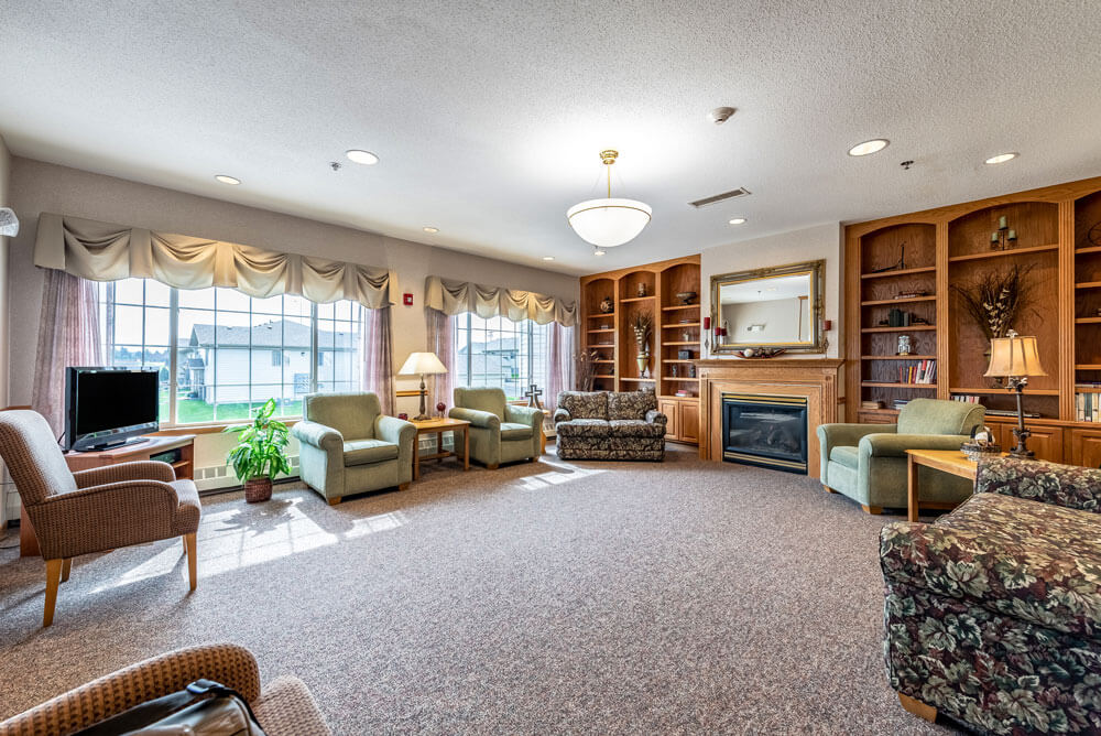Watertown SD - Assisted Living - Living Room